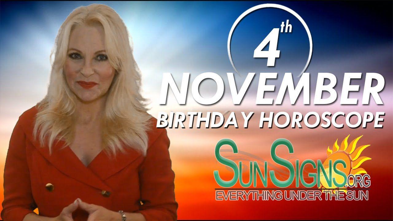 november 4 horoscope astrology