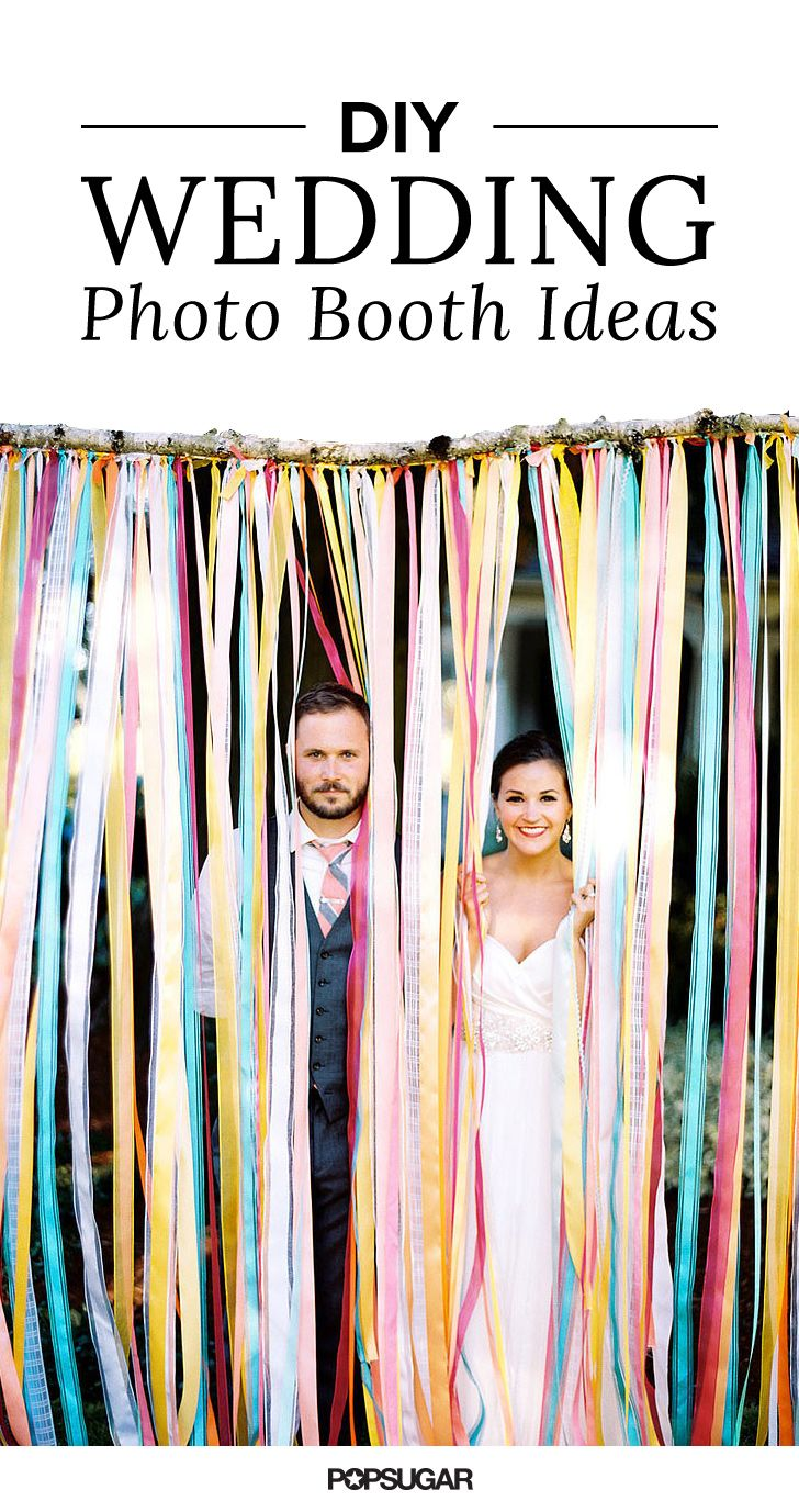 diy photo booth ideas for a fun and flawless wedding photo