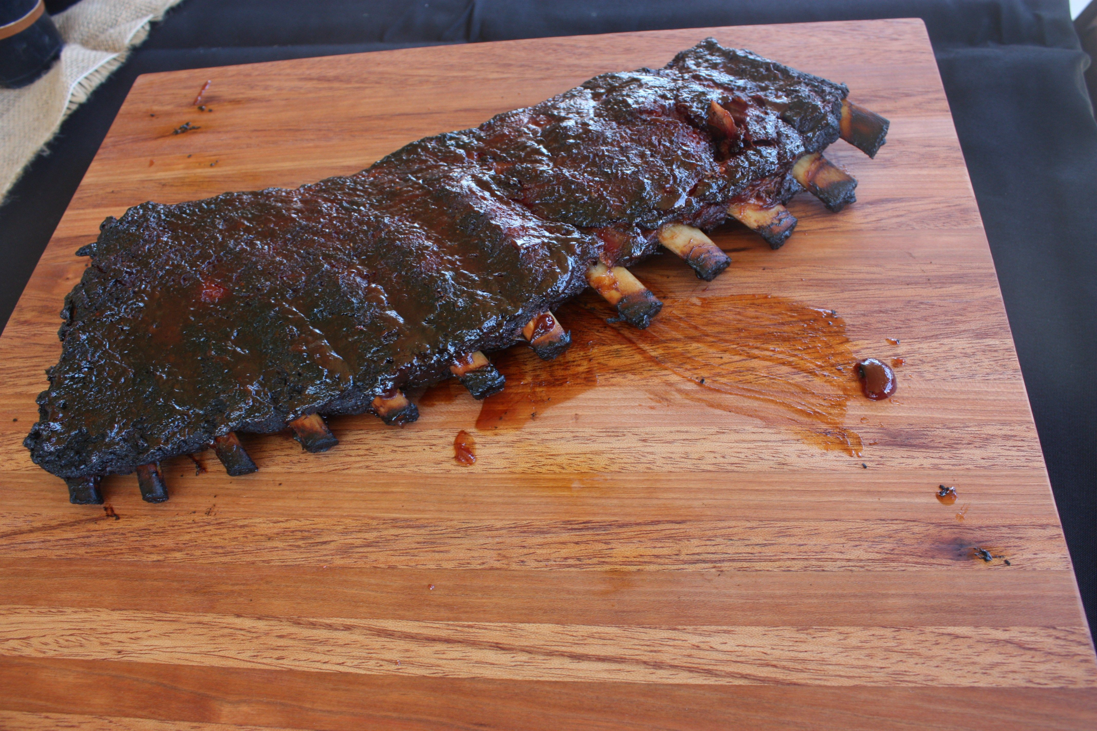 Father's Day Lunch - Menu - BBQ Ribs http://www.milkmaiddesigns.com/2016/06/20/mad-for-plaid-fathers-day-tablescape/