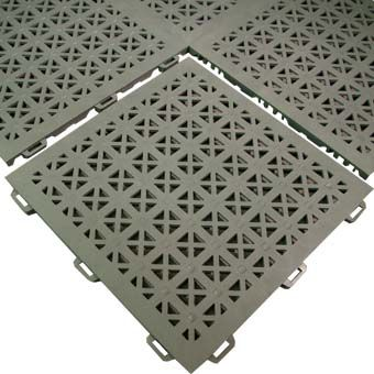 Non Slip Flooring   StayLock Perforated Anti Slip Mat For Wet Areas   Pools  Decks And
