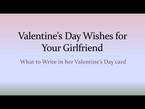 Examples Of What To Write In A Valentine S Day Card For Your