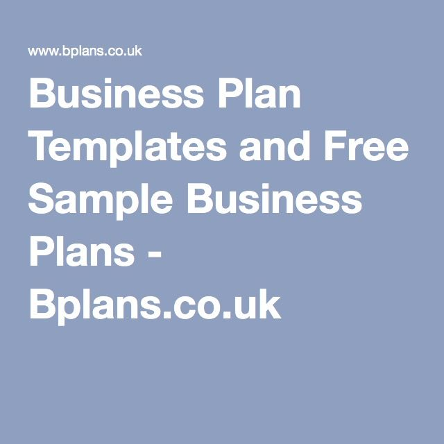 Business plan templates and free sample business plans bplans business plan templates and free sample business plans bplans flashek Choice Image