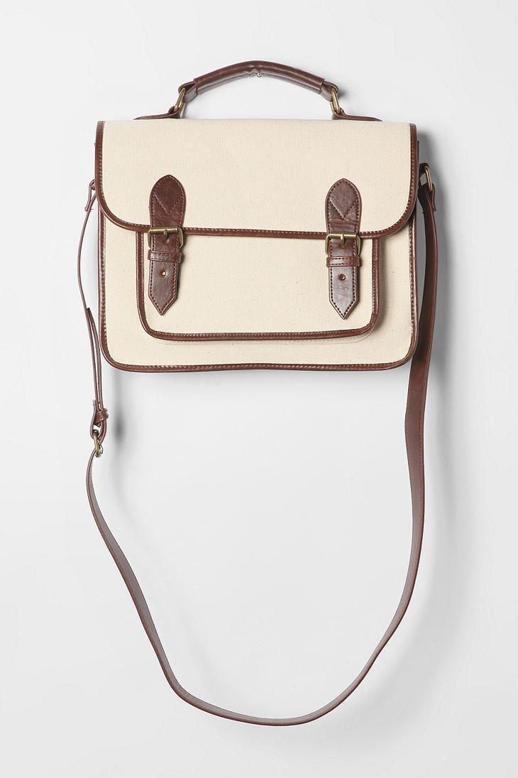 BDG Canvas Satchel - Urban Outfitters