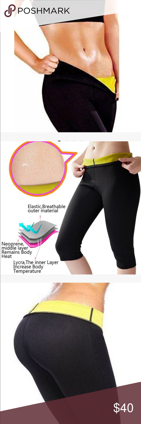 f740391d8f0 THERMO COMPRESSION CAPRIS - TONE YOUR LEGS Patented design that helps you  lose up to 5