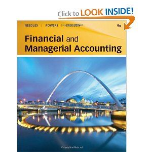 Financial And Managerial Accounting Managerial Accounting Accounting Financial Accounting