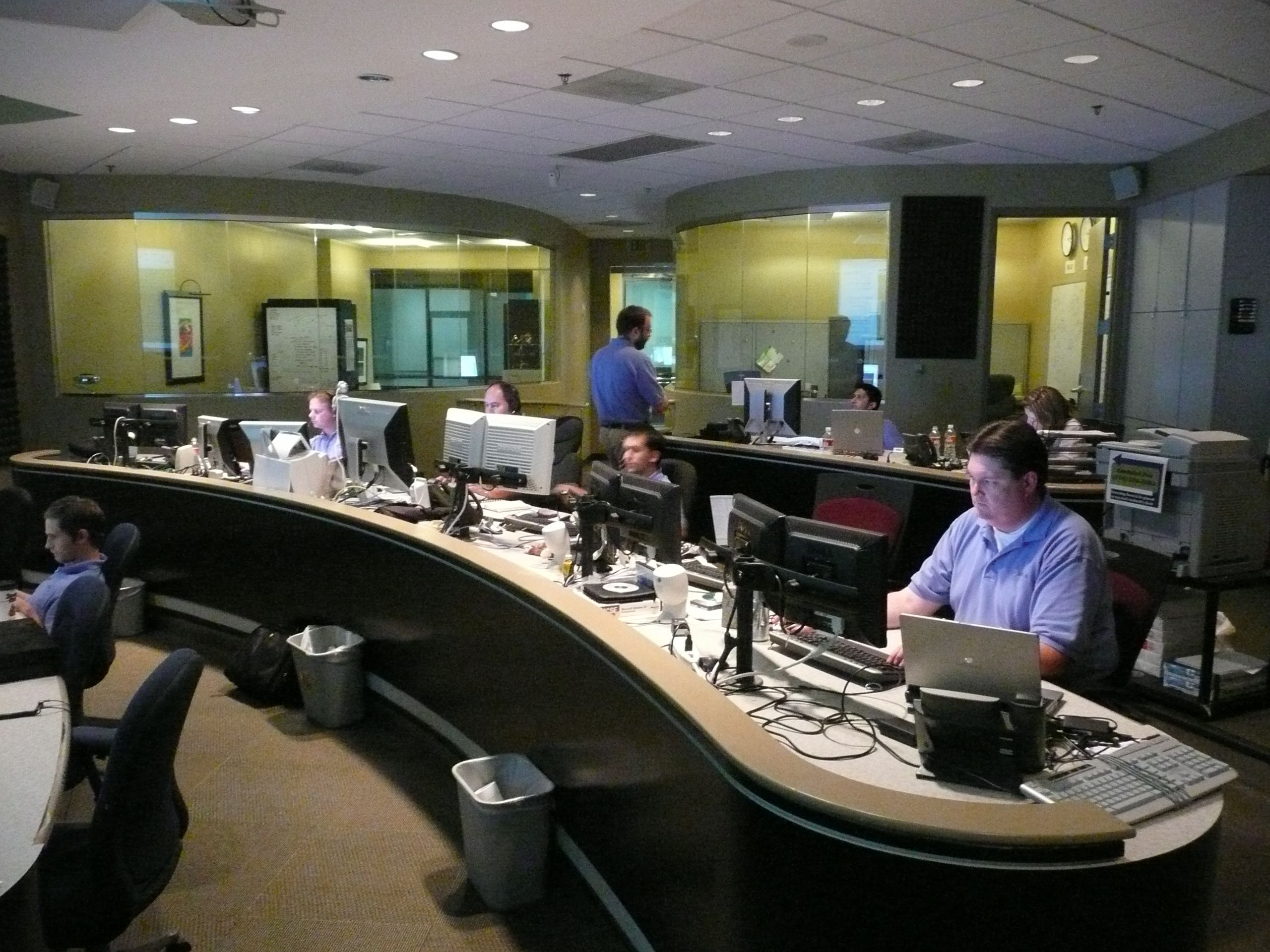 Network Operations Center Monitoring Pinterest