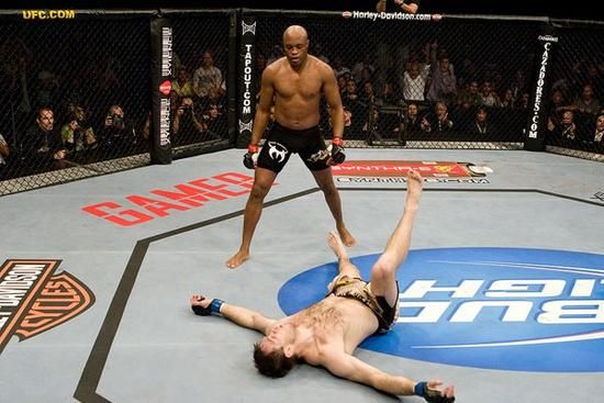 Anderson Silva Knocks Out Forest Griffin Mma Videos Ufc Mma