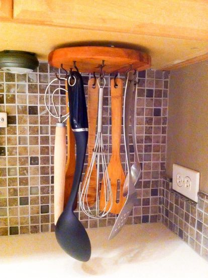 10 Hidden Spots in Your Kitchen You Could Be Using for Storage #kitchenstorage