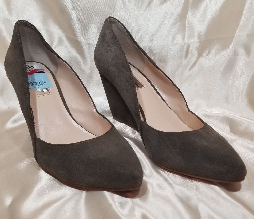 914cf6ea0e368 INC International Concepts 'Zarie' Brown Suede High Heel Wedges NWOB Sz 10  #fashion #clothing #shoes #accessories #womensshoes #heels (ebay link)