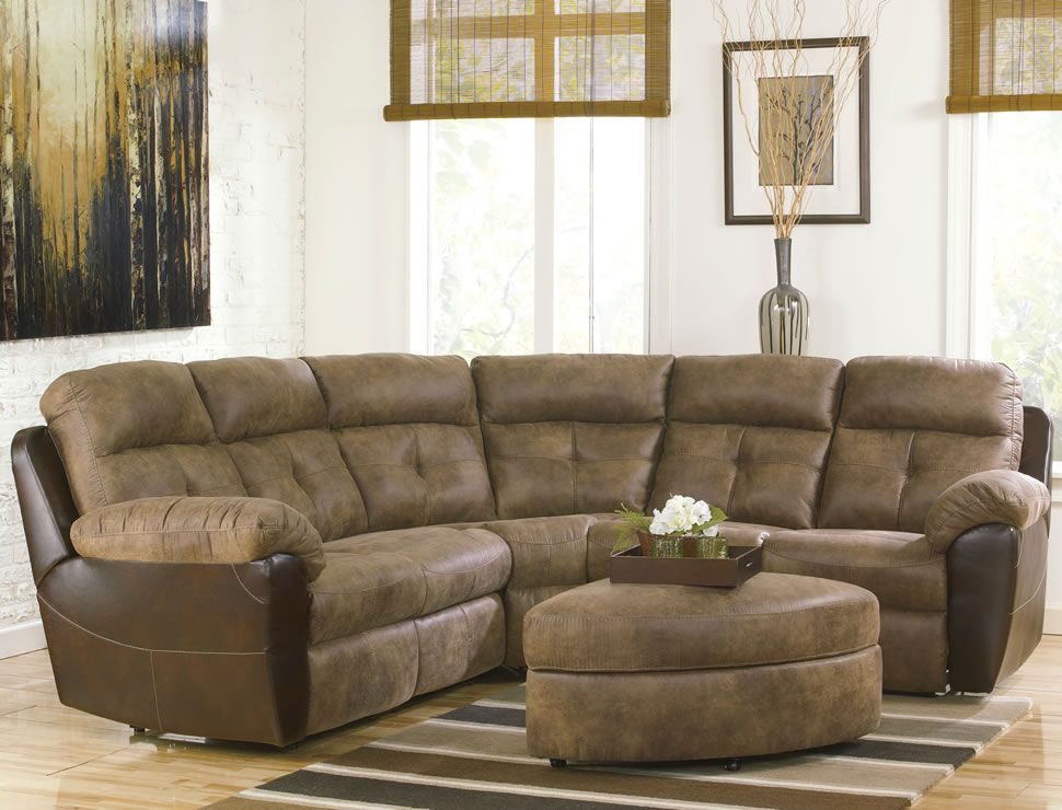 This furniture is very nice if you do not have much space in your home to. Reclining Sectional SofasSmall ... : small sectional reclining sofa - Sectionals, Sofas & Couches