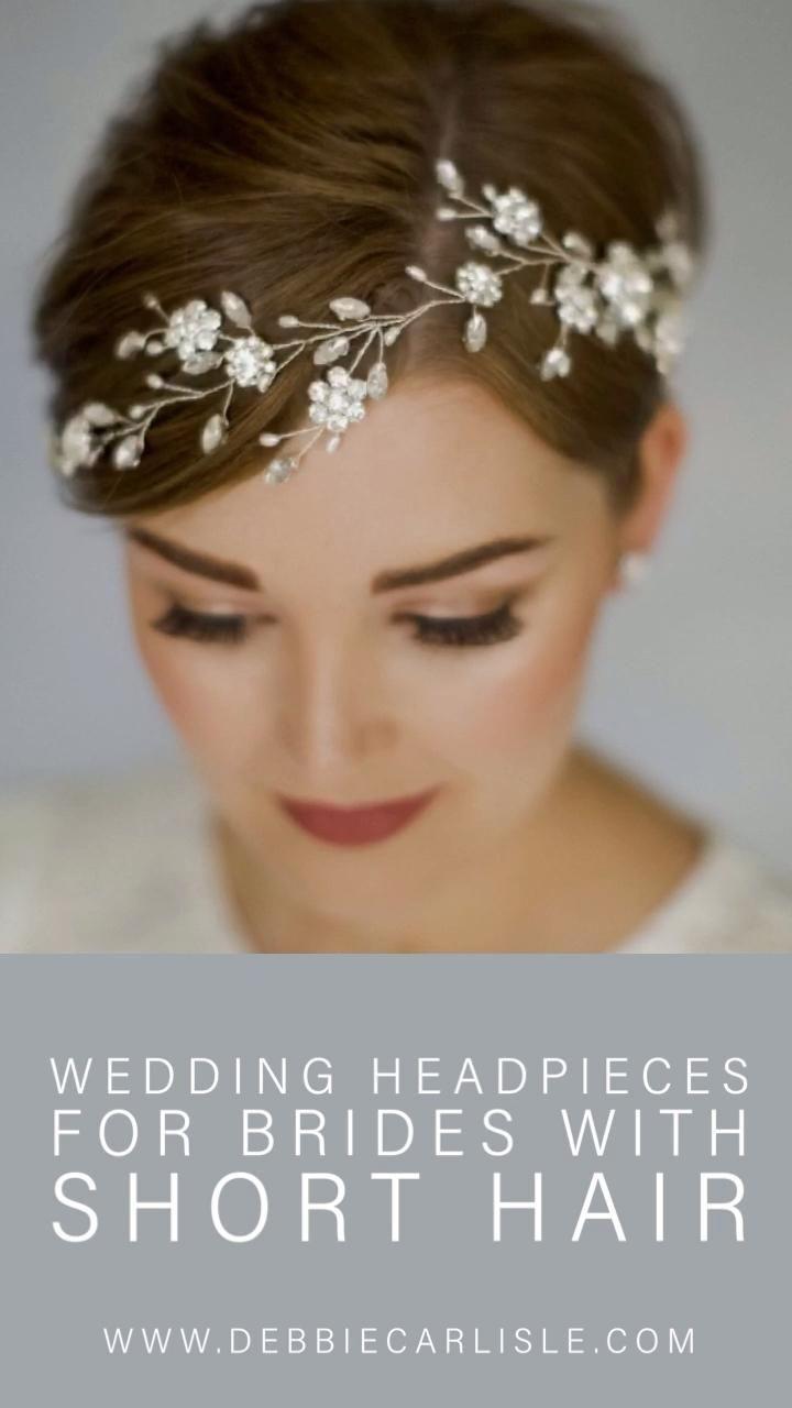 42++ Bridal headpieces for short hair ideas