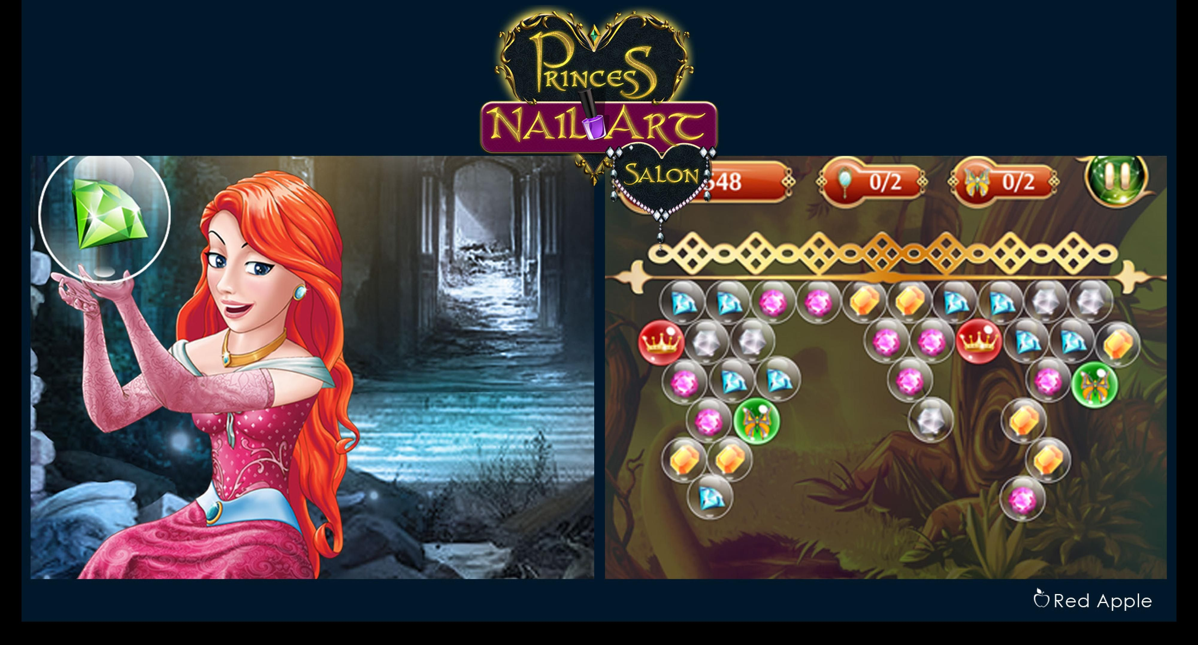 Princess Nail Art 2d Game Art Pinterest 2d Game Art Game Art