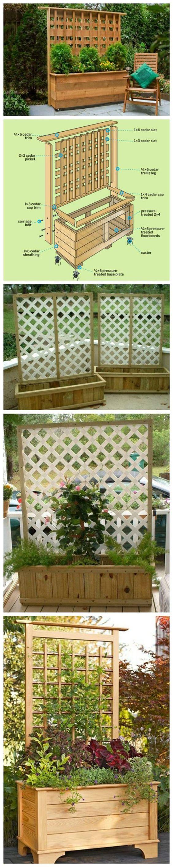 Trellis Planter Box Diy Easy Video Instructions Garden 400 x 300