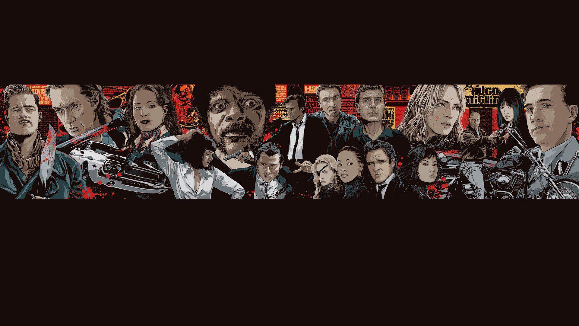 pulp fiction wallpaper hd wwwpixsharkcom images