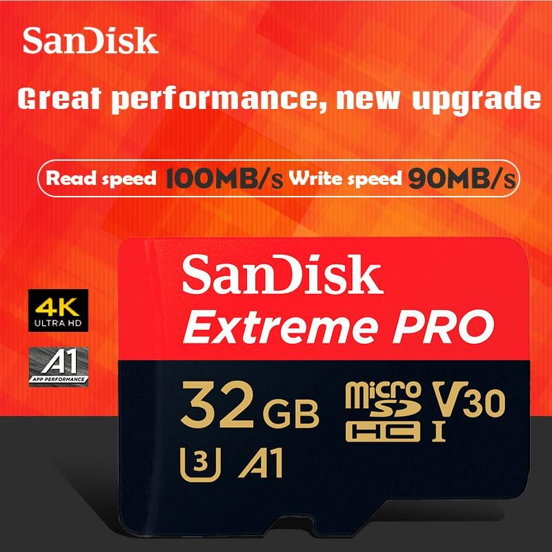 Free Shipping Sandisk Extreme Pro Microsdhc Xc Memory Card Micro Sd