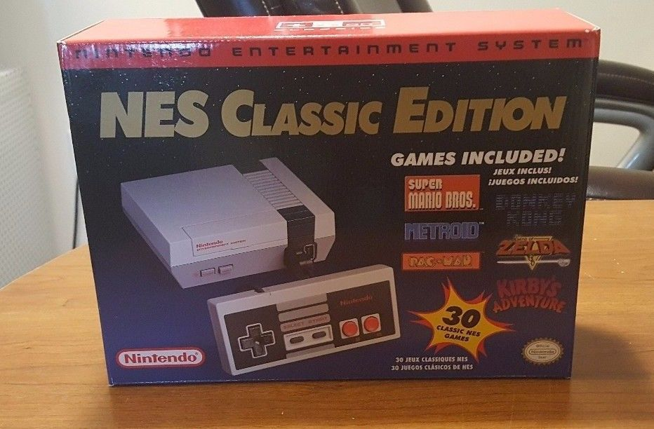 Nintendo Entertainment System Nes Classic Edition Mini Console Brand
