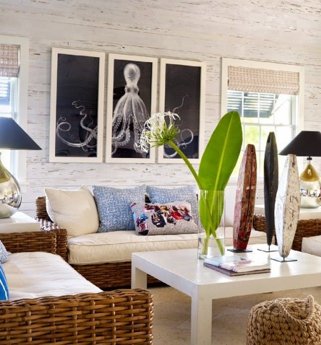 22 Ideas for Nautical Home Decor Living rooms, Decorating and Room