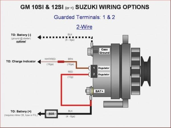 2wire Alternator Wiring Diagram Chevy