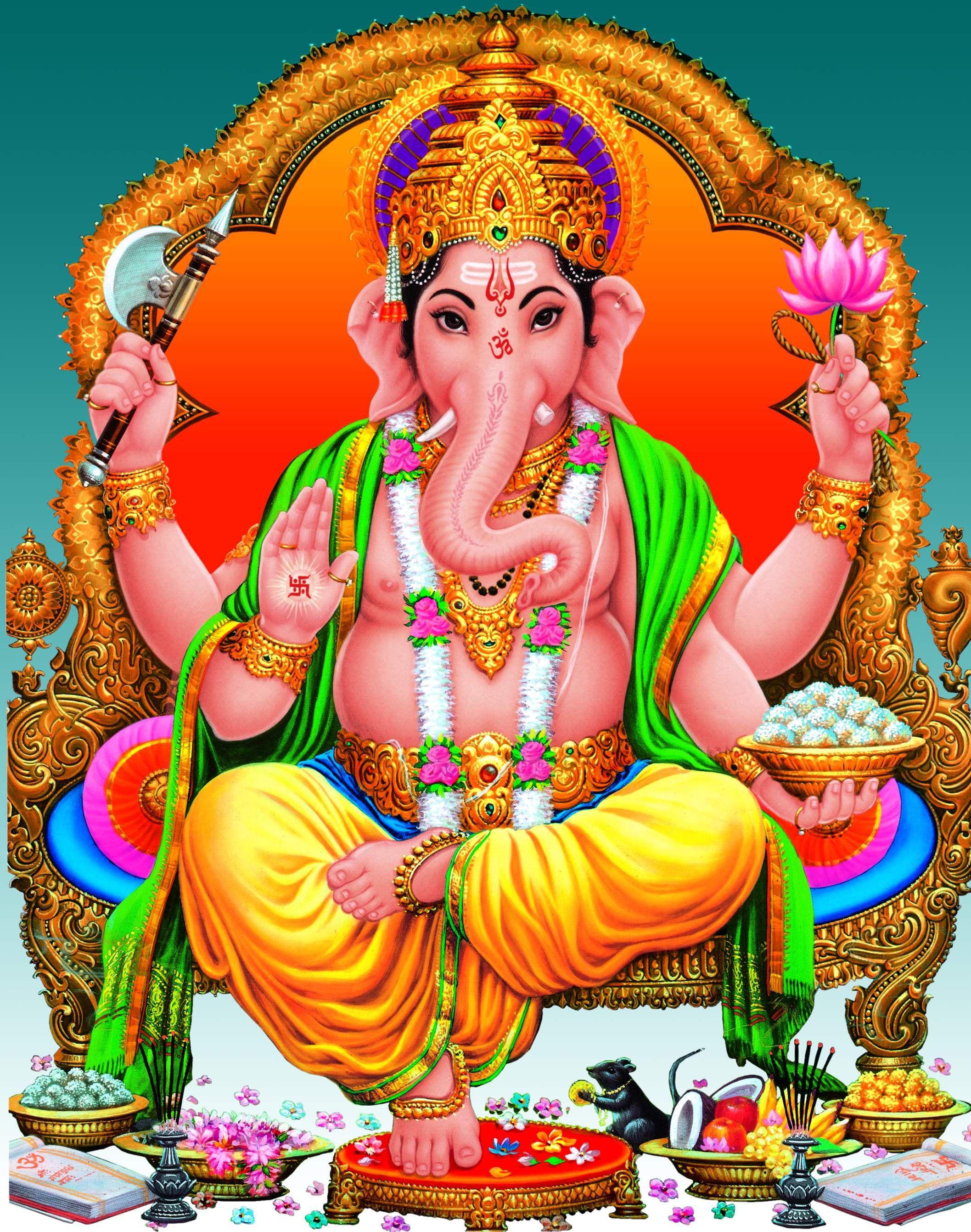 Hd wallpaper ganesh ji - Lord Ganesh Indian God Ganesha Ji Full Hd