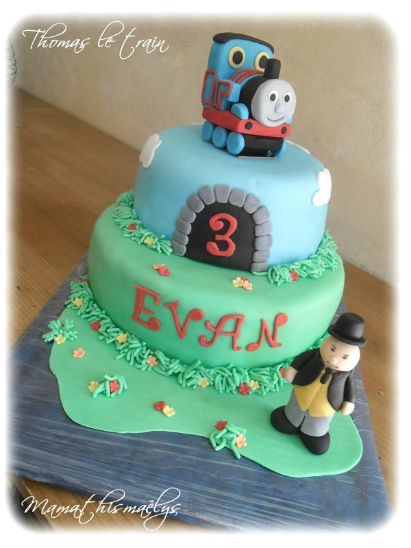 gâteau 3d thomas le train | <3 <3 | pinterest | thomas le petit