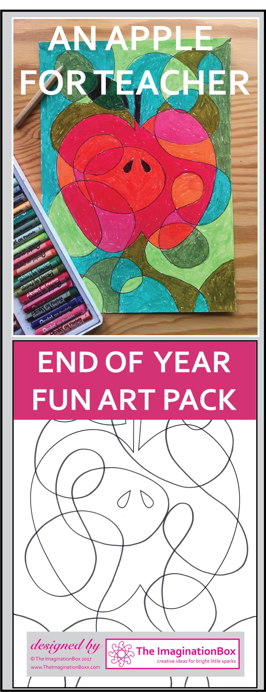Teacher Appreciation, End of Year Coloring Pages, Apple Theme ...