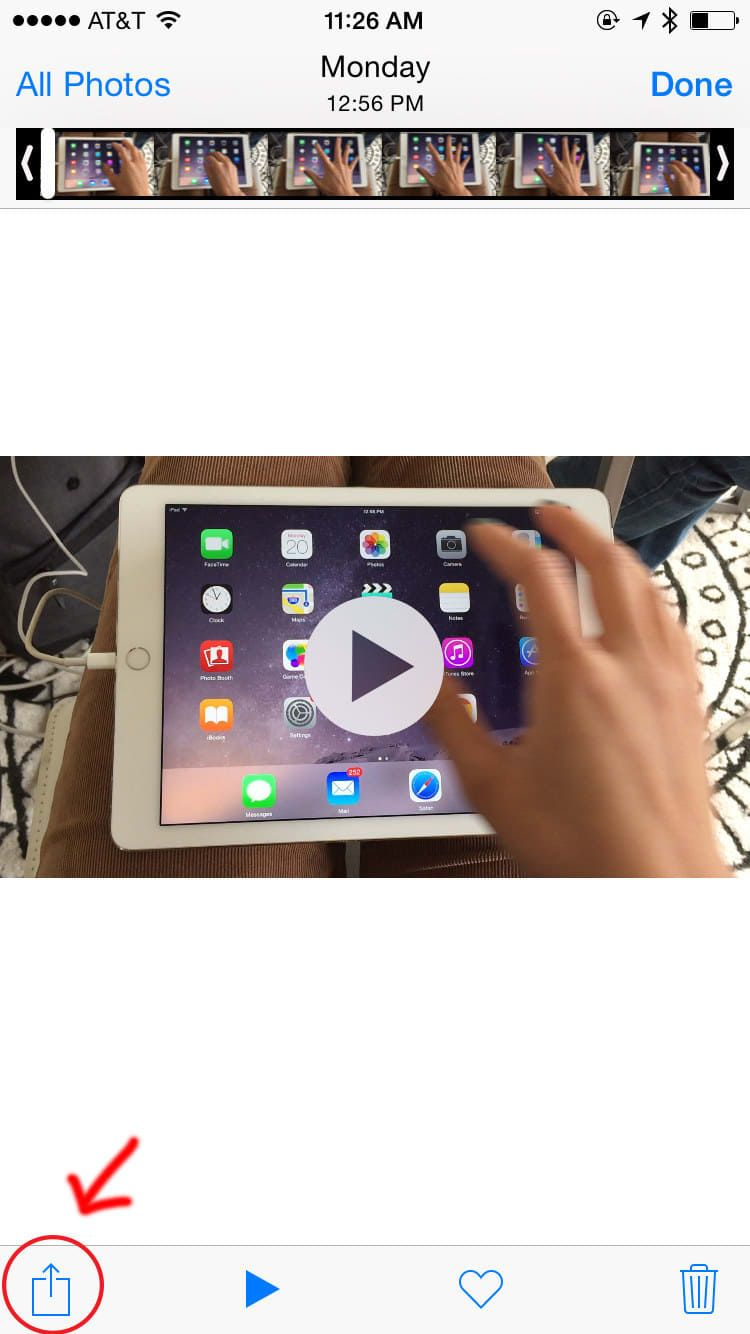 how to make a video loop on iphone with sound