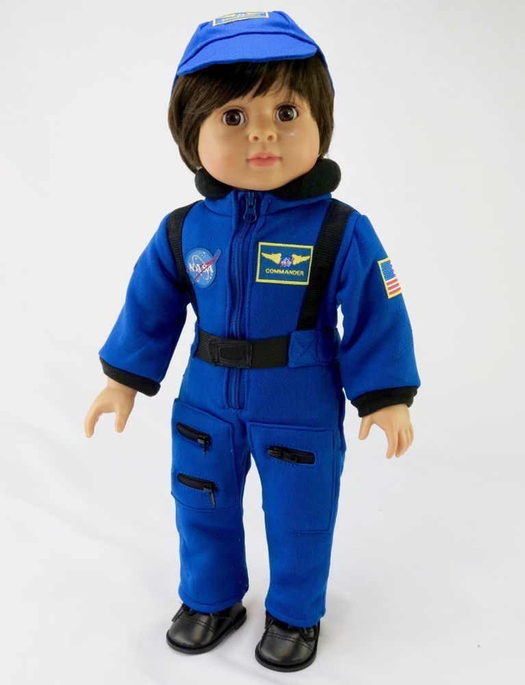My Brittany/'s Nasa Flight Suit for 18 Inch American Girl Dolls Luciana