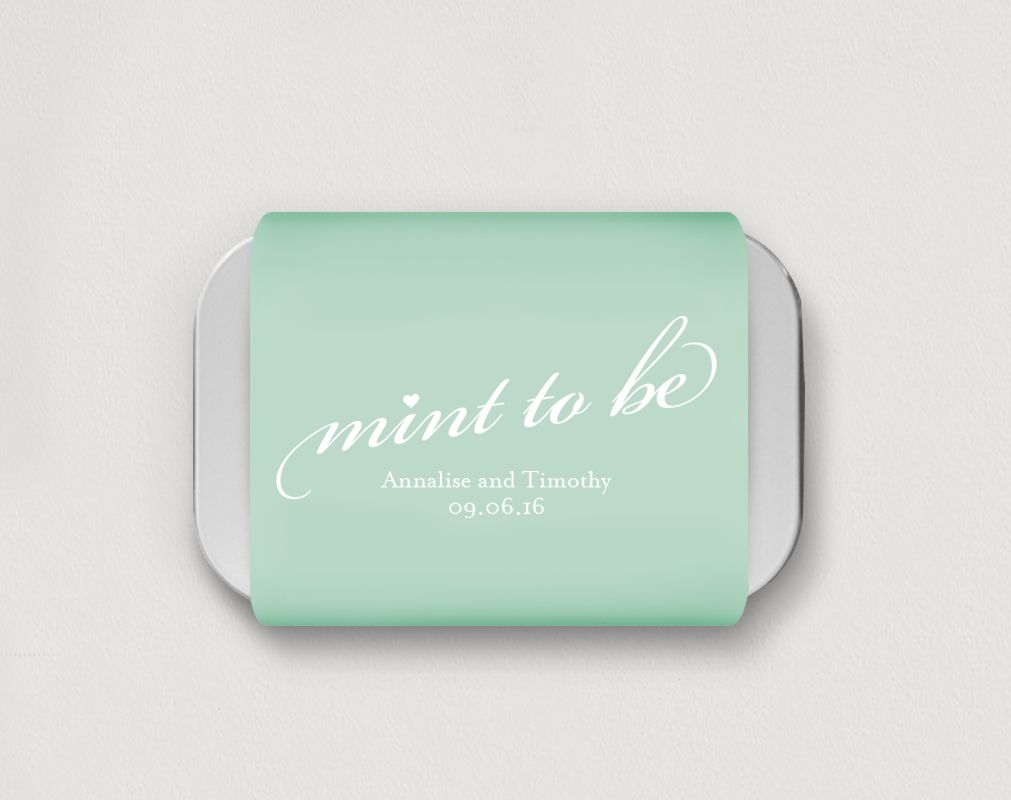 Free mint to be template wedding favor bridesmaids pinterest free printable template free wedding favors mint to be wedding favors maxwellsz