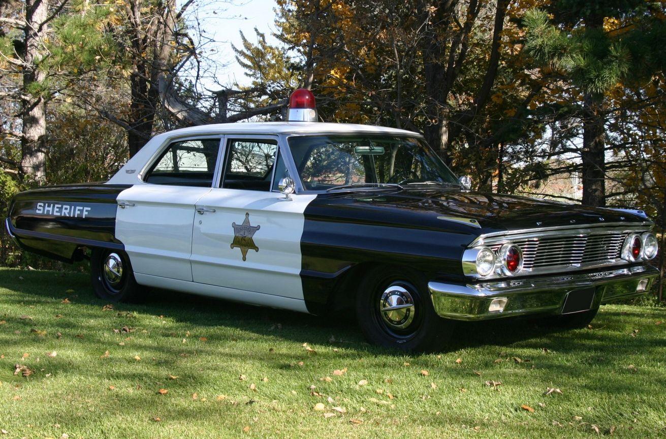 1964 Ford Galaxie 500 4-door Sedan Sheriff Patrol car - Etats-Unis & 1964 Ford Galaxie 500 4-door Sedan Sheriff Patrol car - Etats-Unis ... markmcfarlin.com