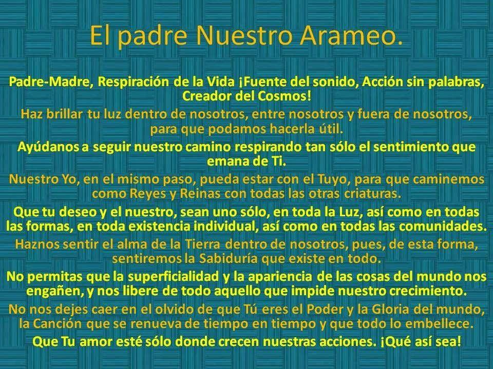 Sabiduría Akáshica El Padre Nuestro Original Traducido Oraciones Salmos De Proteccion Padre