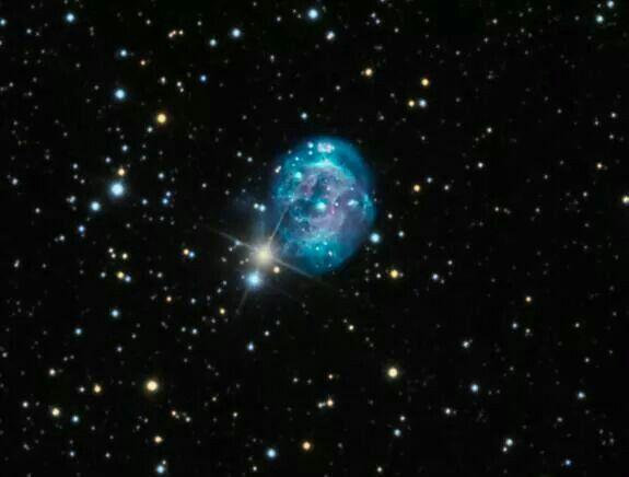 The Fetus Nebula (With images) | Nebula, Planetary nebula ...