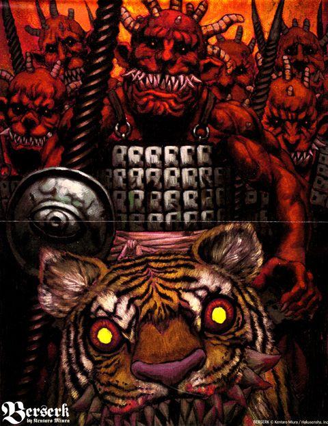 Berserk by Kentaro Miura, Great Manga and Anime