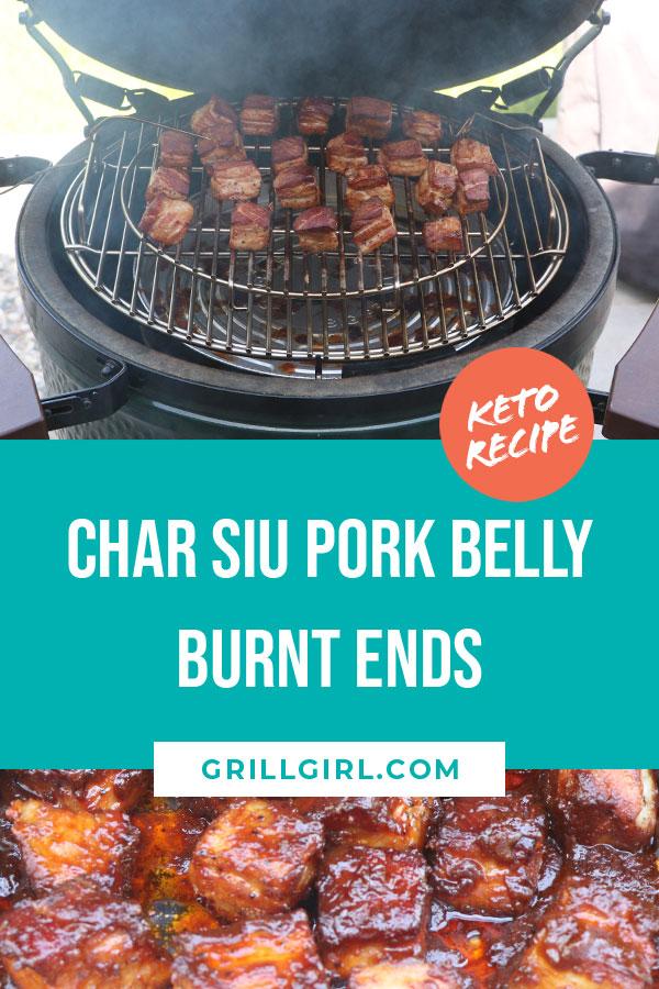 Low Carb Char Siu Pork Belly Burnt Ends Recipe Pork Belly Burnt Ends Pork Belly Char Siu Pork