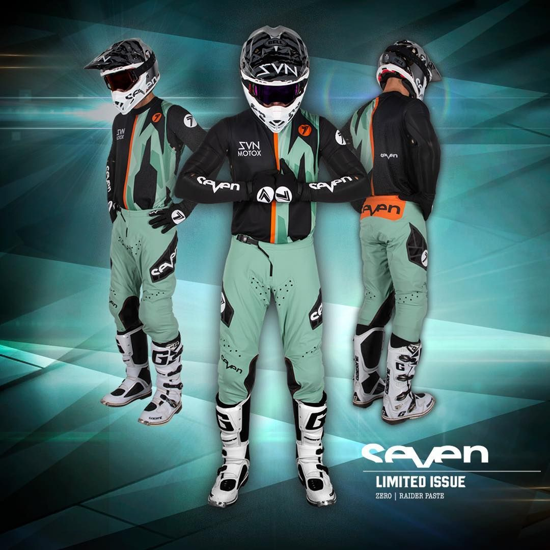 Seven Mx Zero Lasercut Raider A1 Paste Kit Combo  With