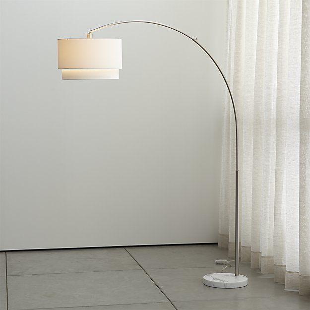 Meryl Arc Floor Lamp Reviews Crate And Barrel