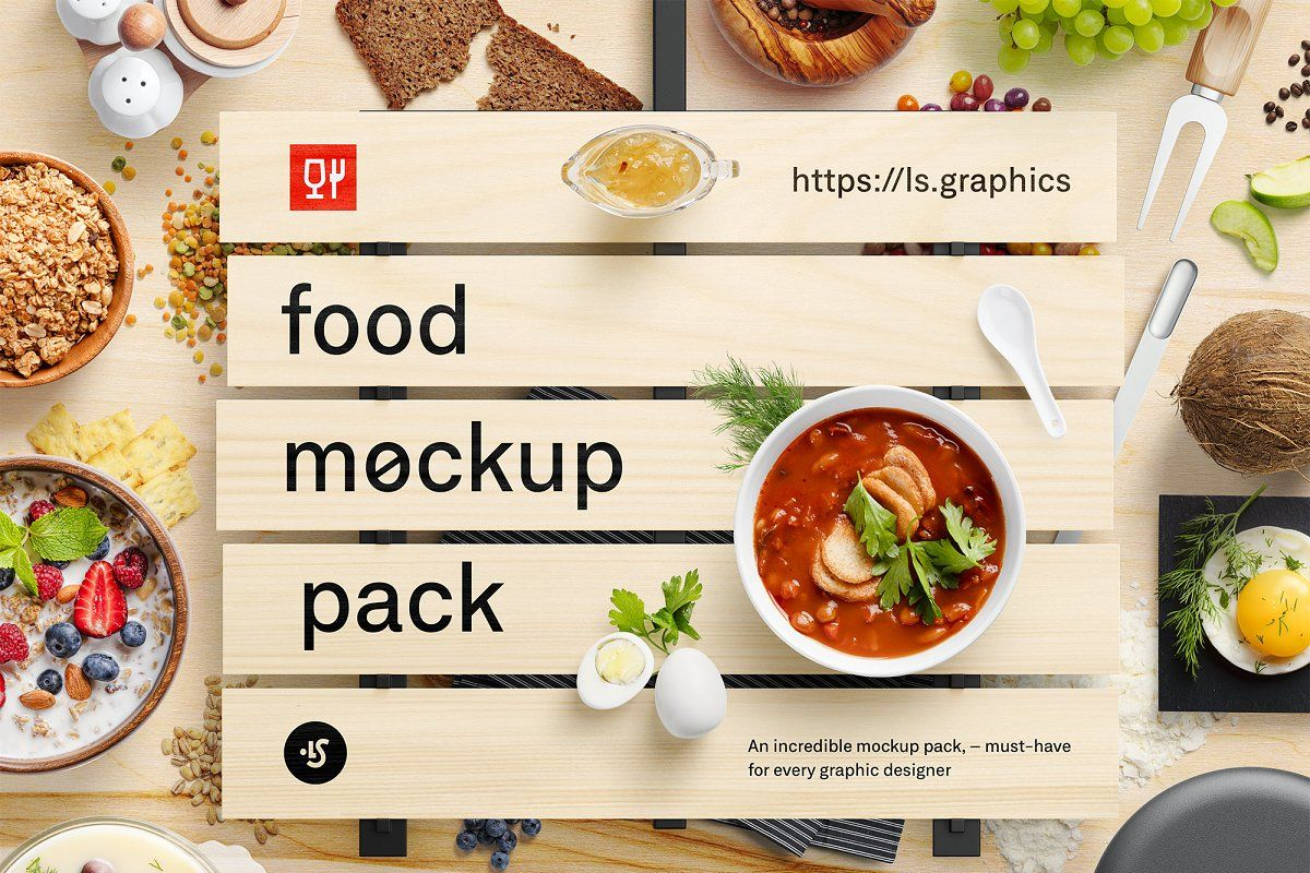 Download Food Scene Mockup Free Yellowimages