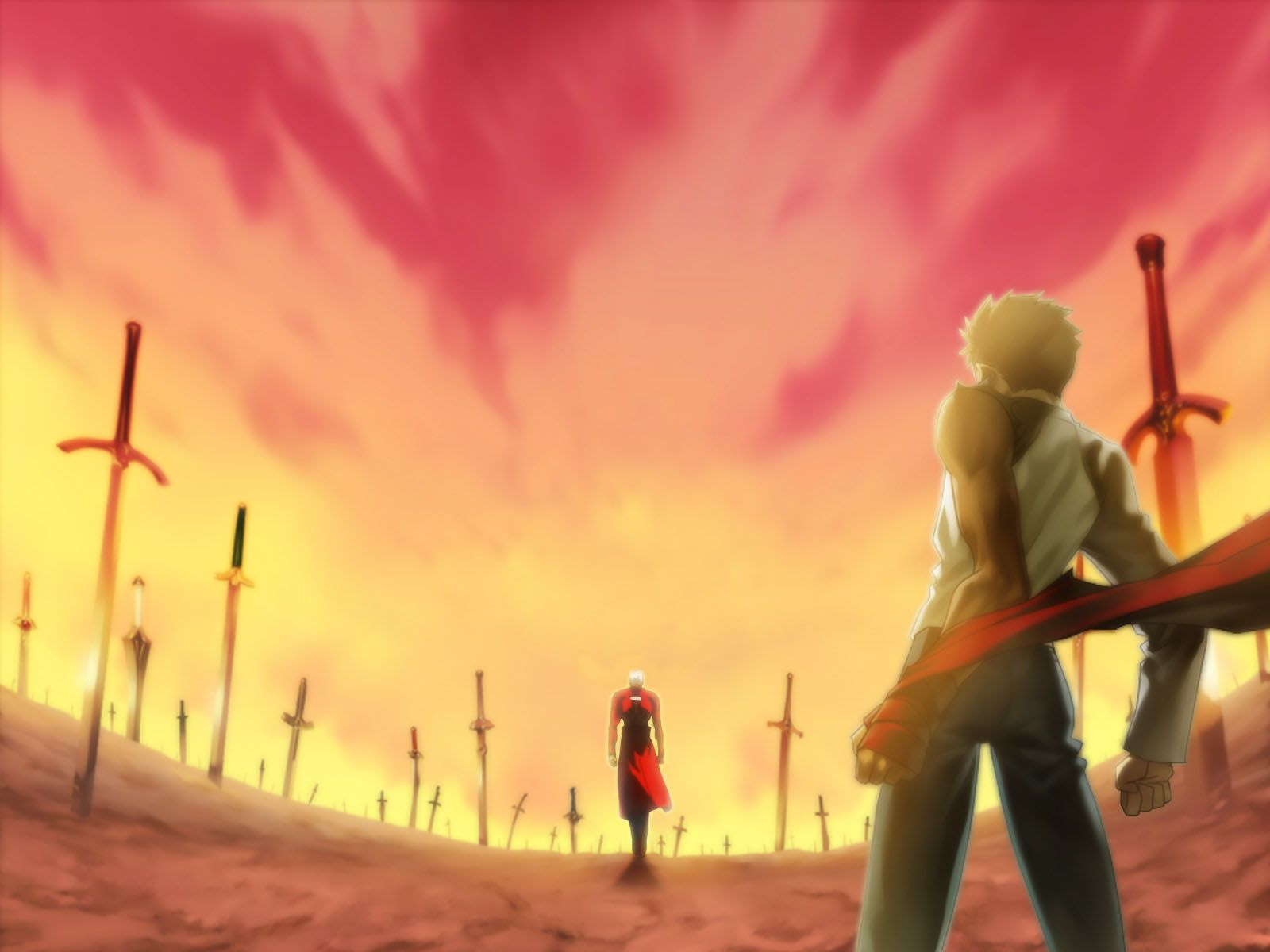 Anime Fate Stay Night Unlimited Blade Works Archer Shirou