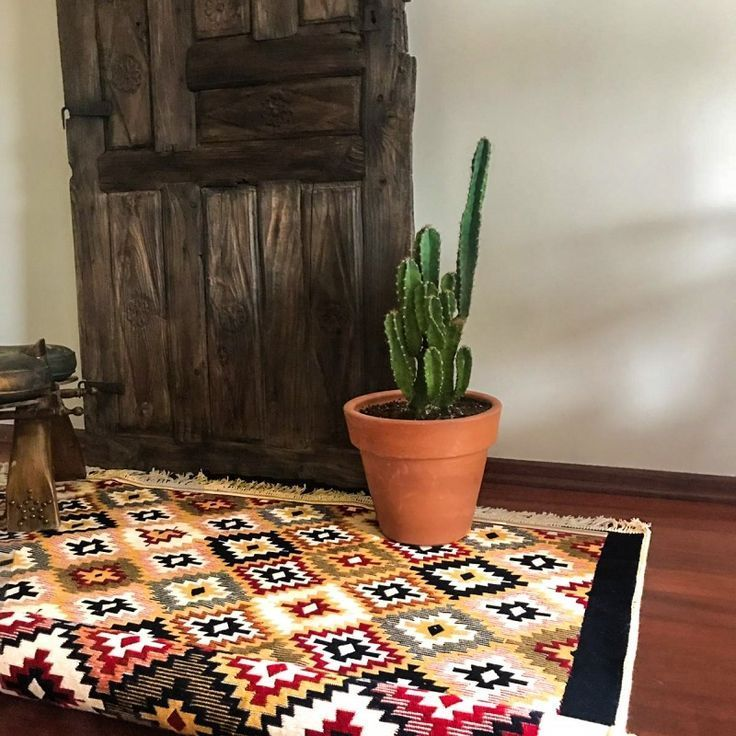 This boho kilim Turkish rug machine washable and reversible..These boho style rugs not only match with your vintage, bohemian home design, they also match with modern simple home decor for kitchen bathroom or living room Not yet, the new generation for kilim rug. Blended vintage and modern style together! #RugsForLivingroom #BedroomRug #RugForKitchen #KitchenRug #TurkishRug #CottonRug #LivingroomRug #RugShop #FarmhouseRug #Modernrug #RugBathroom #HomeDecor #RugVintage #FarrmhouseRug #BohoDesign