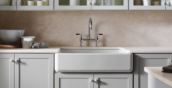 Apron-Front Sinks: Beyond the Farmhouse