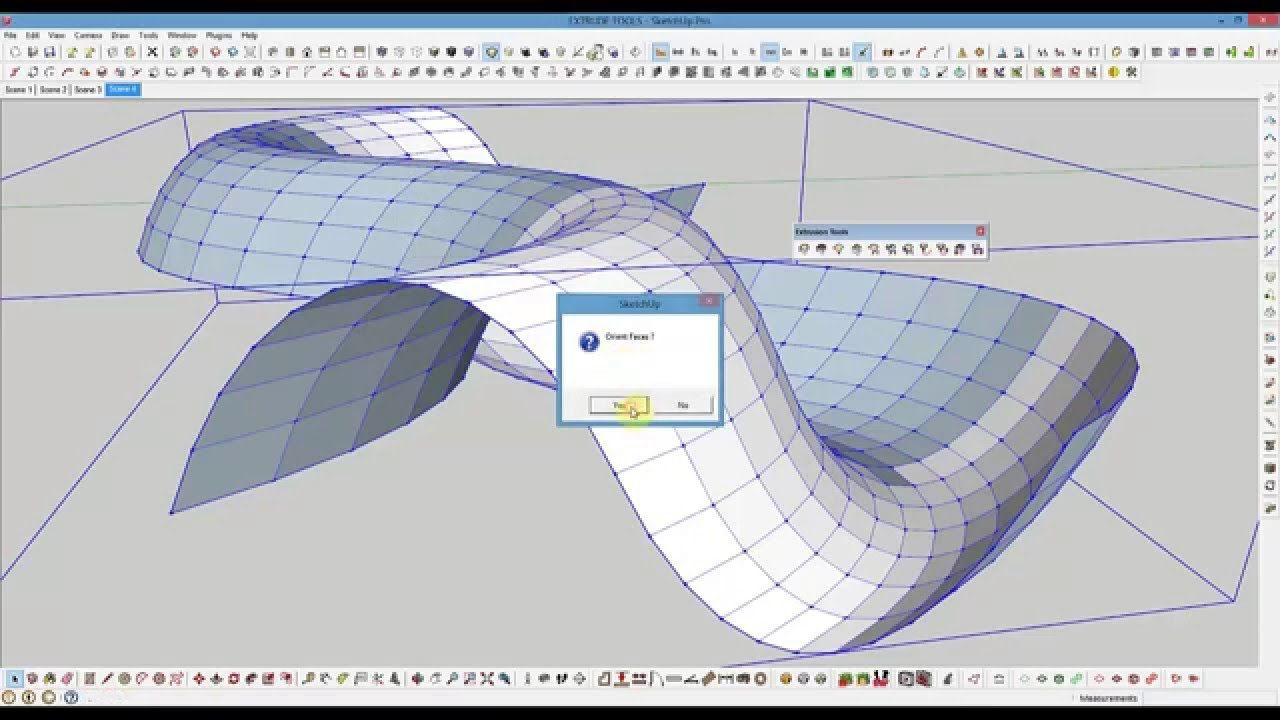 Plugin extrusion tools sketchup 2016 | How to use extrusion tools ...