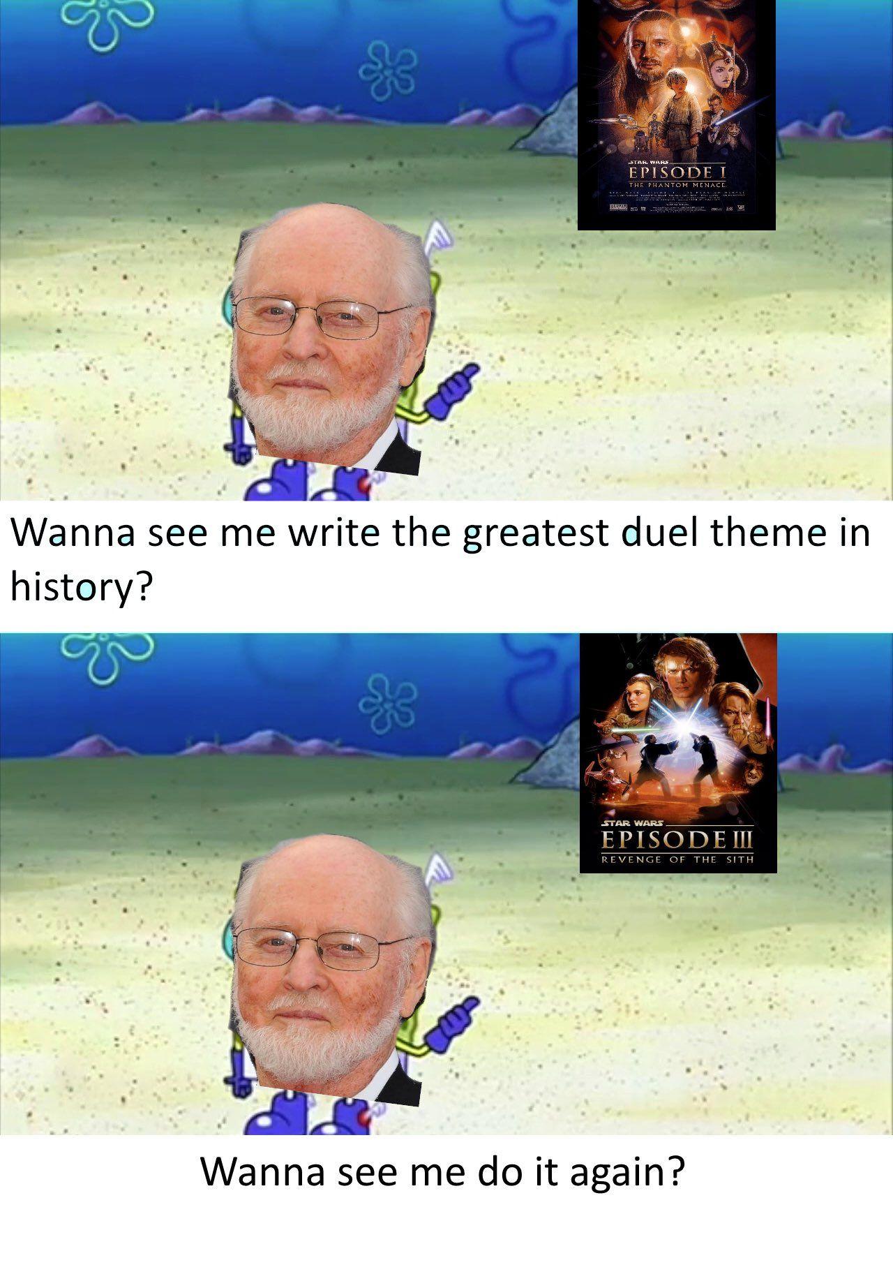 John Williams Is A Legendhttps I Redd It Kqzqtrnsqn821 Jpg Star Wars Facts Star Wars Fandom Star Wars Memes