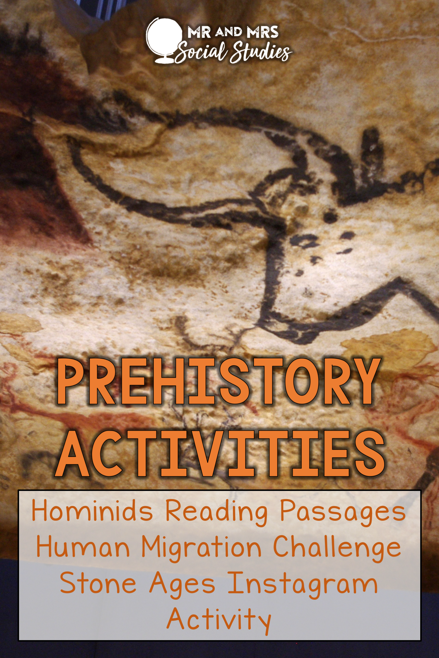 Prehistory And Early Humans Activities For Drive