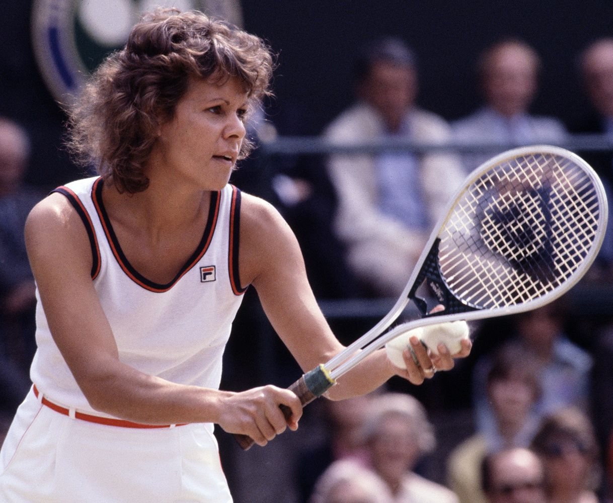 evonne goolagong She is my all time favorite player She was so