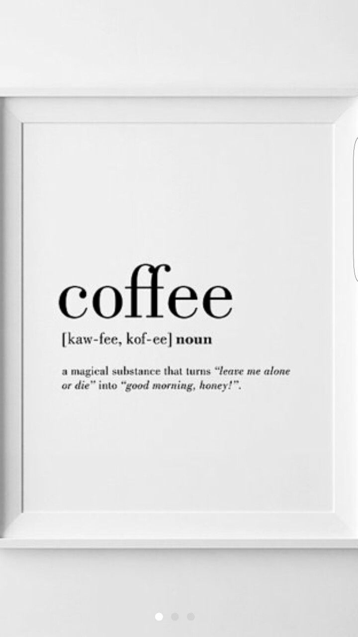 morecoffeeplease | black and white | Pinterest | Coffee, Walls and ...