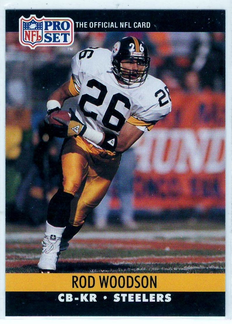 1990 NFL Pro Set Rod Woodson 626 Football Trading