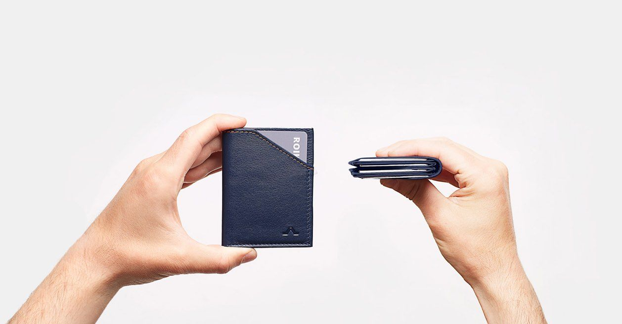 ROIK, the Leather Slim Wallet