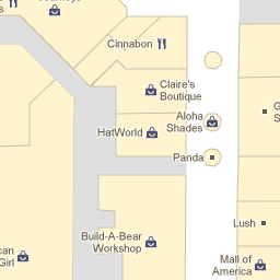 Google Indoor Maps Mall of America Vacations