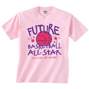 Future Basketball All Star Infant And Toddler Tee Girls