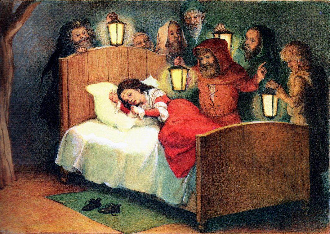 Snow White Illustrated By Anastassija Archipowa From