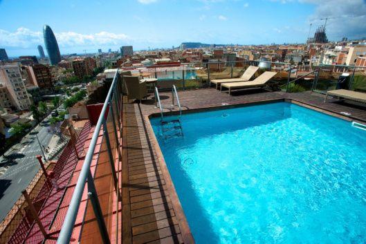 Hôtel 4 étoiles à Barcelone, le Barcelona Plaza est un magnifique